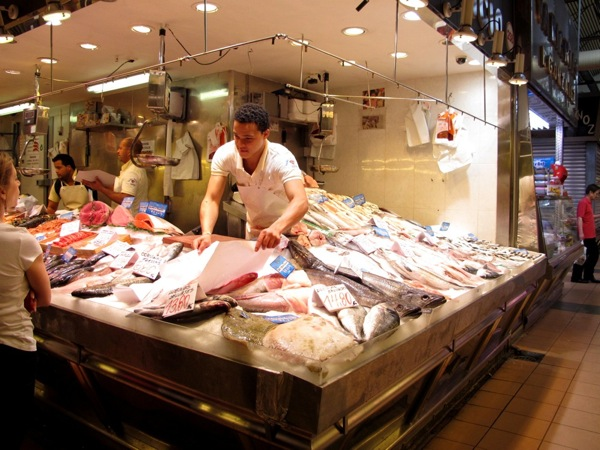 Travel-Photograph-Lisbon-Portugal-Europe-Fishmonger-Food-Market-Grocery