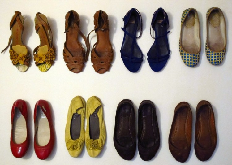 Wardrobe-Closet-Shoes-Ballet-Flats-Collection-Sandals