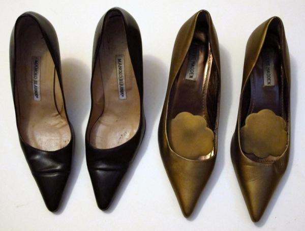 Wardrobe-Closet-Shoes-Manolo-Blahnik-Newcio-Pumps-Steve-Madden-Bronze-Kitten-Heel-2