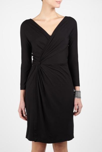dkny-black-whisper-weight-jersey-wrap-dress