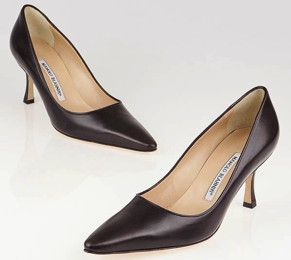 manolo-blahnik-dark-brown-pumps-mid-heel-work
