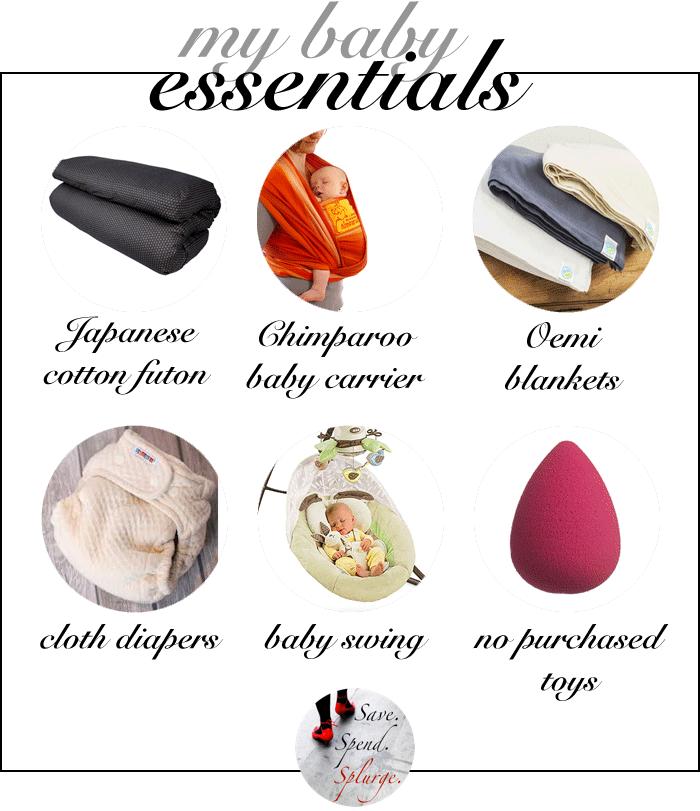 save-spend-splurge-best-baby-essentials