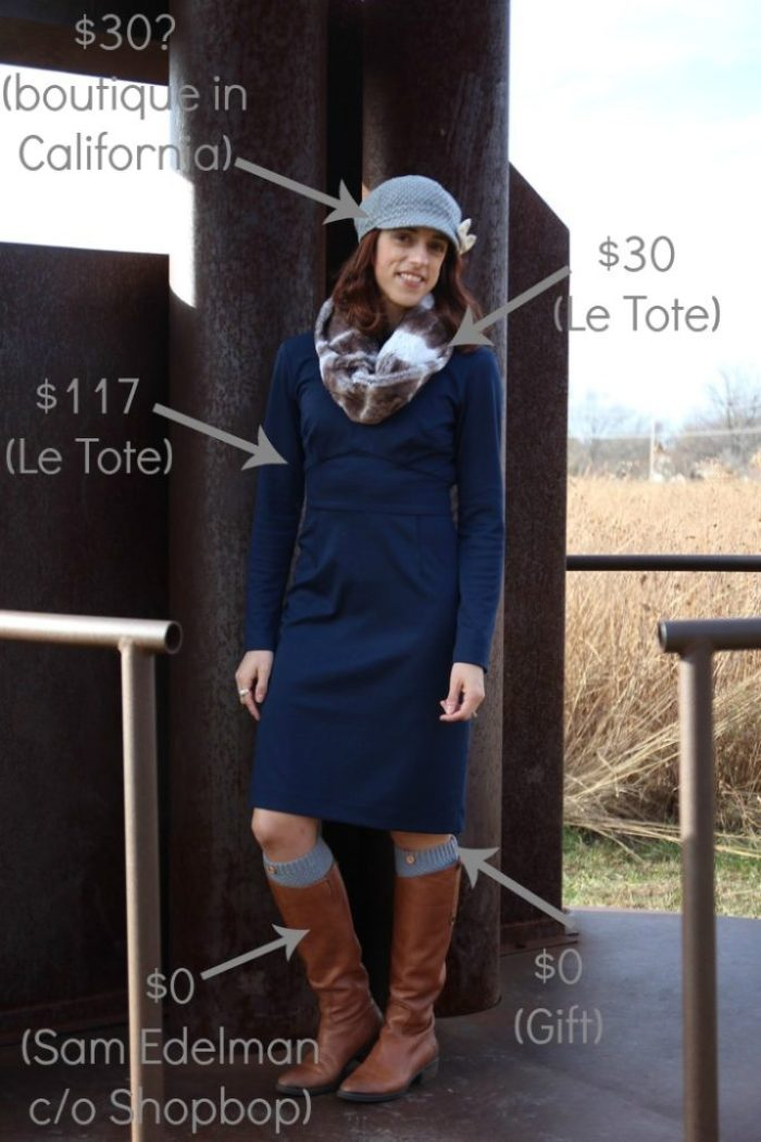 style-bloggers-erin-loop-looks-blue-dress-with-hat