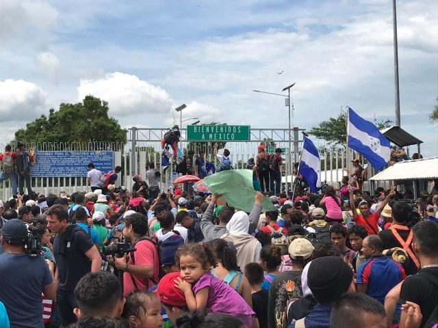 Save the Children urge a activar mecanismos de protección para salvaguardar la integridad de los menores que forman parte de la Caravana Migrante