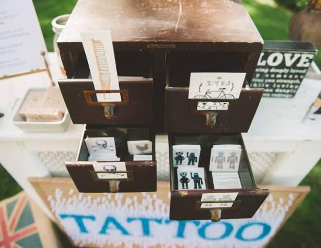 Le Tattoo Bar Une Animation Fun Pour Votre Mariage