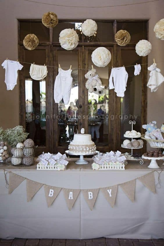 Centerpieces Ideas Baptism Decorations