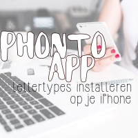 Lettertypes installeren op je iPhone