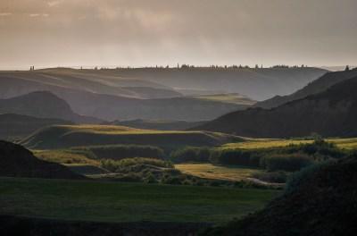 Rosebud Valley at sunrise