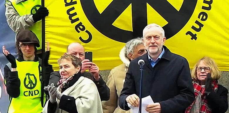 Corbyn anti Trident