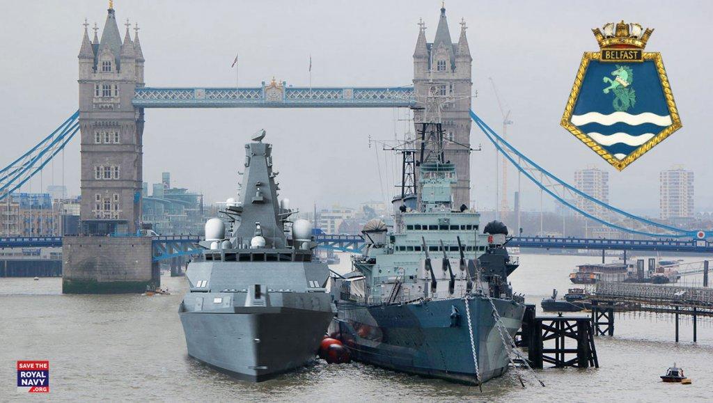 HMS Belfast (Type 26 frigate) and HMS Belfast (1938)