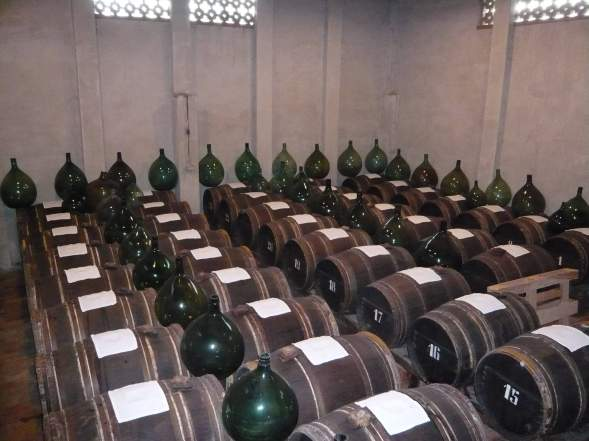 Cave de vieillissement du vinaigre balsamique
