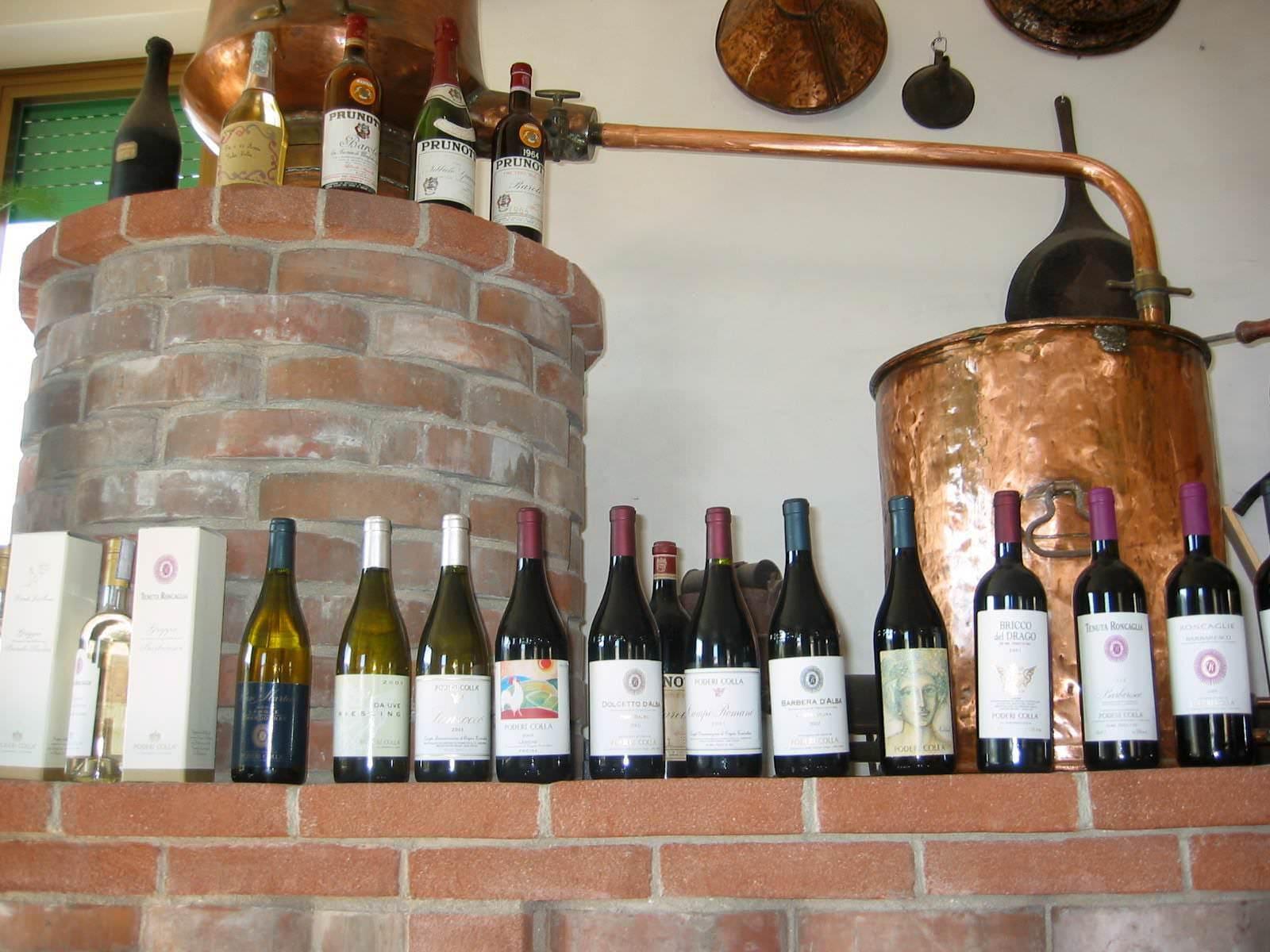 Wines of Poderi Colla