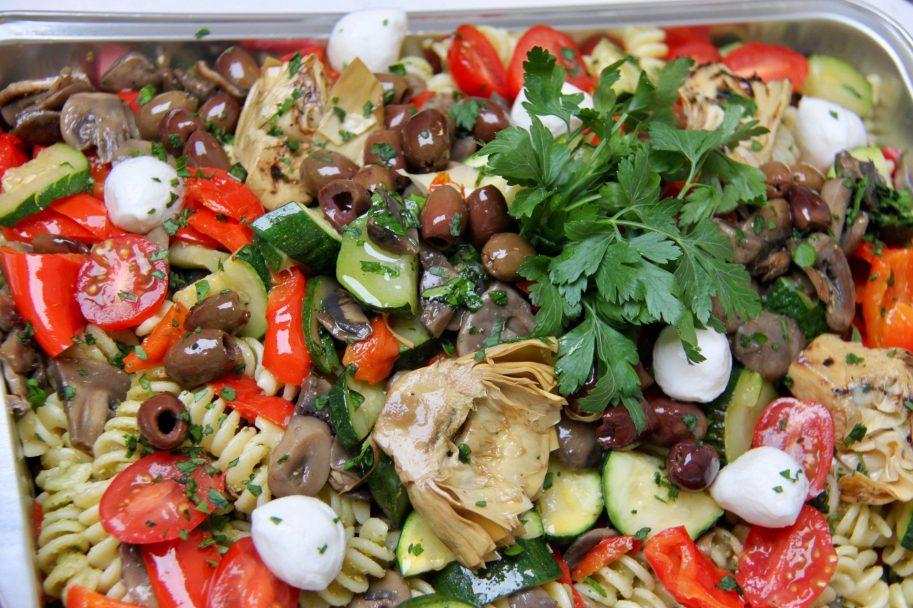 Insalata di pasta e verdure