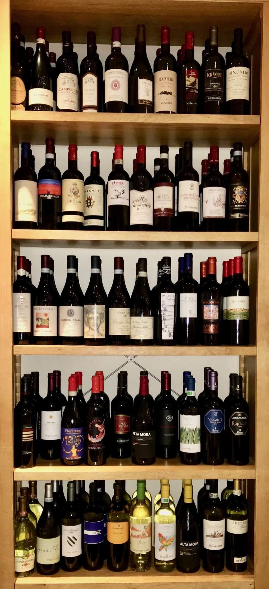 Presentazione vini