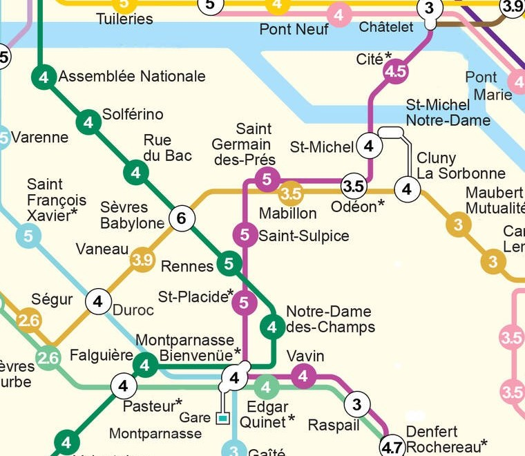 Le plan de métro des bières 5