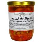 Sauté de Dinde aux Petits légumes et au Piment doux 750g