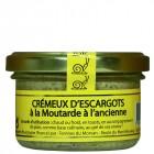 Crémeux d'escargots à la moutarde à l'ancienne 80g