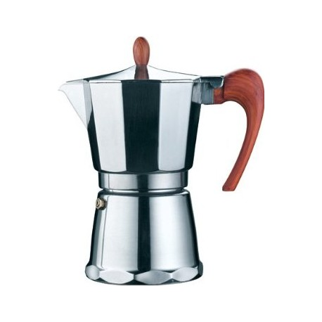 cafetiere italienne inox magnifica 6t saveurs des continents
