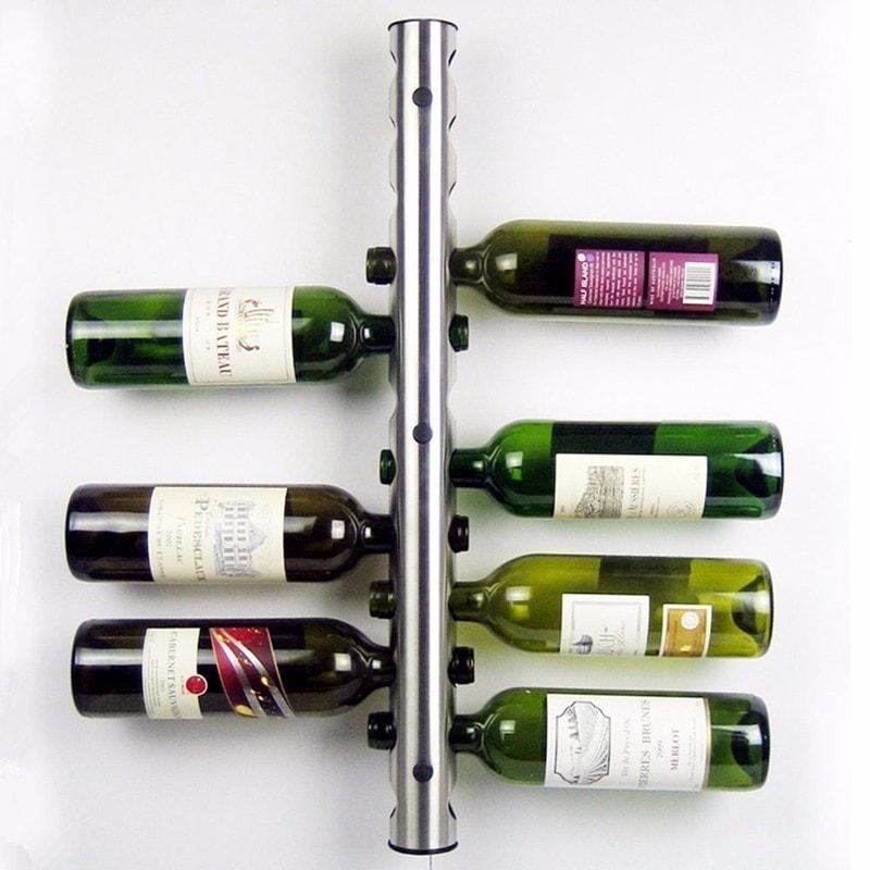 porte bouteille de vin mural et design