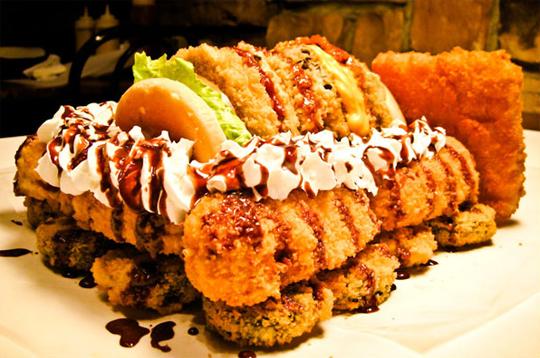 six feet under challenge Certains restaurants vous offrent votre repas ?