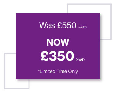 Wave Discount Leanring £350 instead of £550