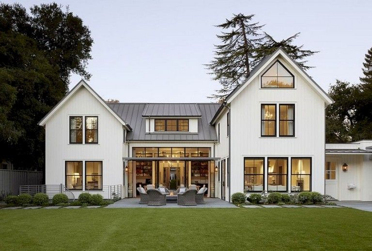 Top Modern Farmhouse Exterior Design Ideas Savillefurniture