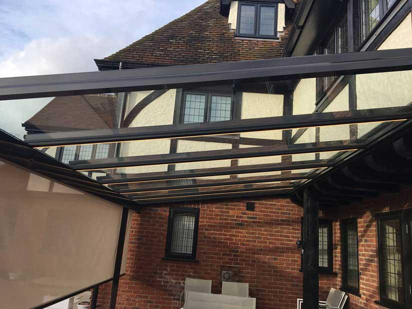 glass patio roof brentwood savills