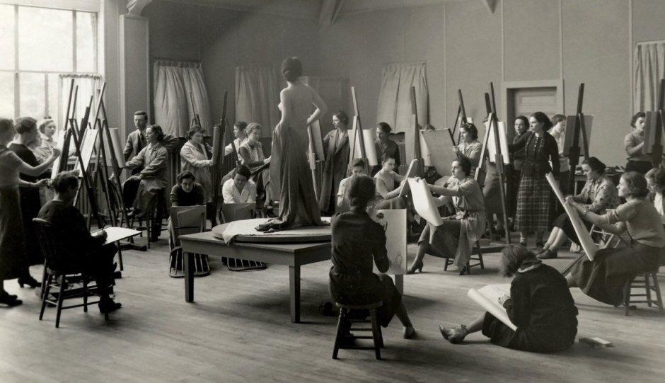 ActivistArt_Ph.f5.21 Chatterton Art Class Nude© Vassar College / Archives & Special Collections, Vassar College Libraries