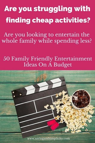 50 Family Friendly Entertainment Ideas On A Budget (1)