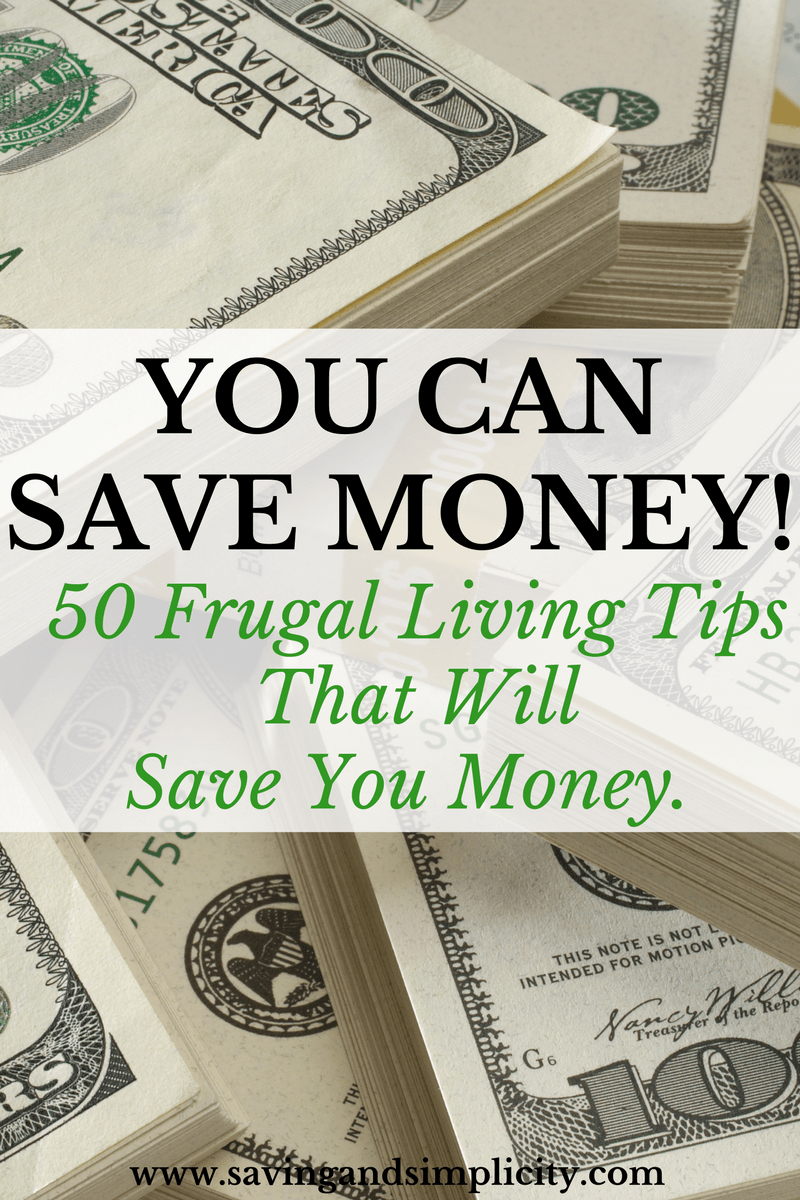 Money Saving Tips