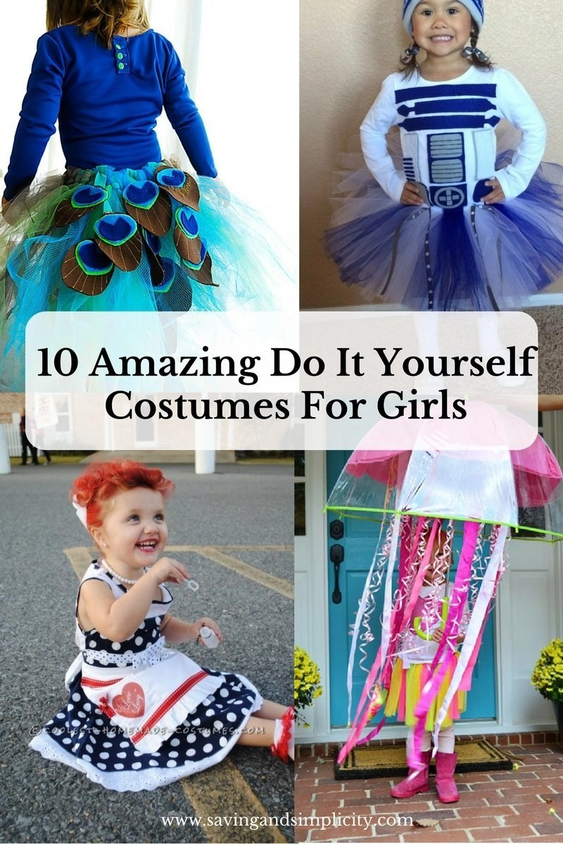 Do It Yourself: 10 Amazing Do It Yourself Costumes For Girls