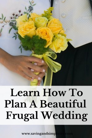 A wedding is one of the most joyful times. Learn how to plan your dream wedding on budget. Learn how to make more frugal wedding choices and save money.