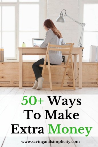 Making side money, having a side hustle or extra career has become a norm in today's economy. Learn 50+ ways to make extra money.