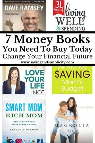 Are you struggling with money? Are you financially frustrated? Here are 7 amazing books that will help you with money. Save money and get out of debt now.