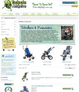 Tadpole - strollers