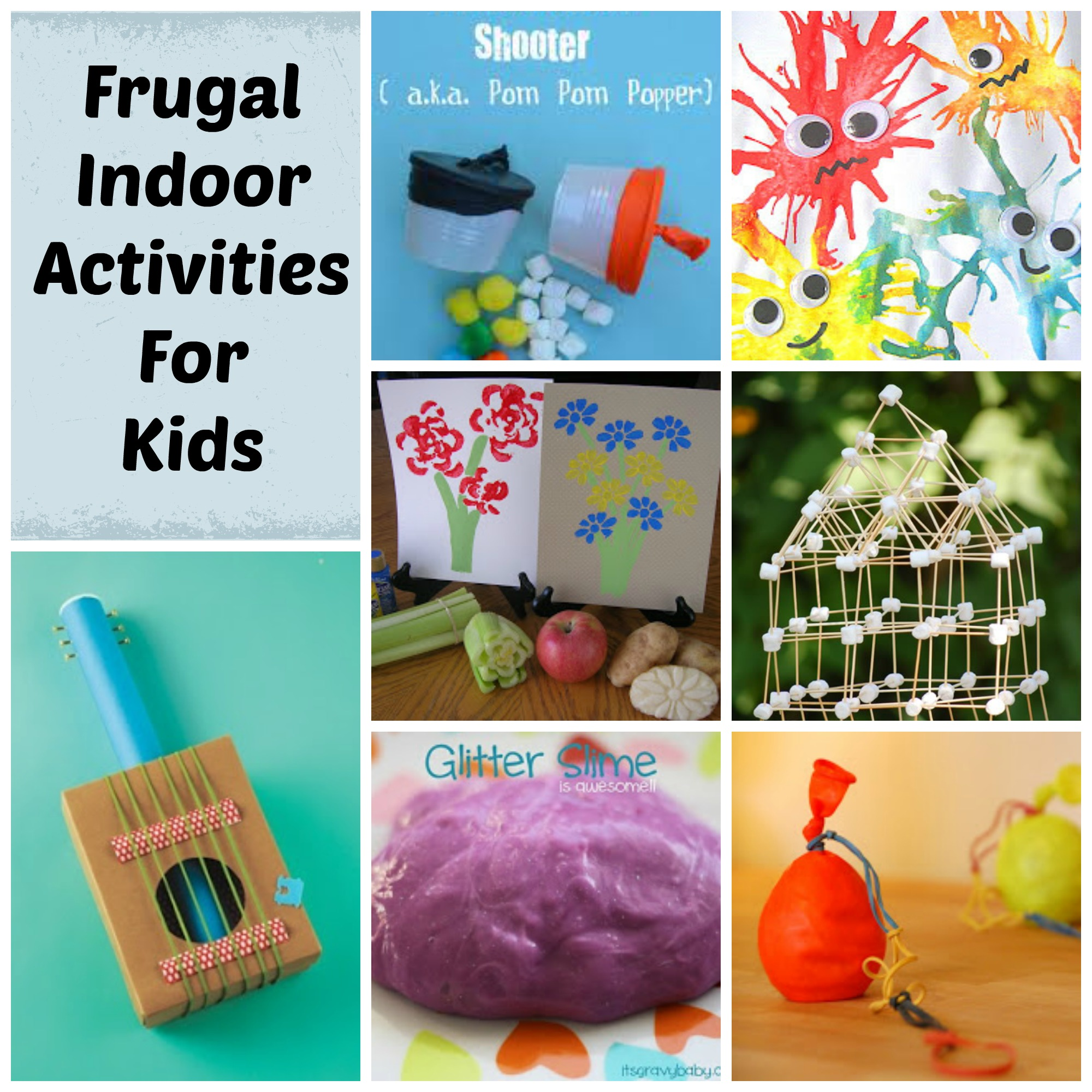 Frugal Indoor Activities For Kids