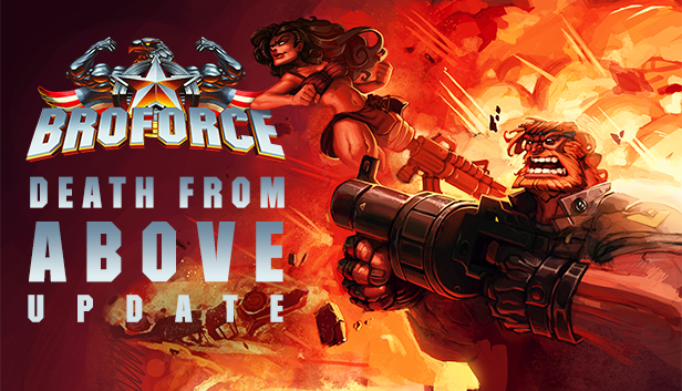 Broforce July Update - Key Art