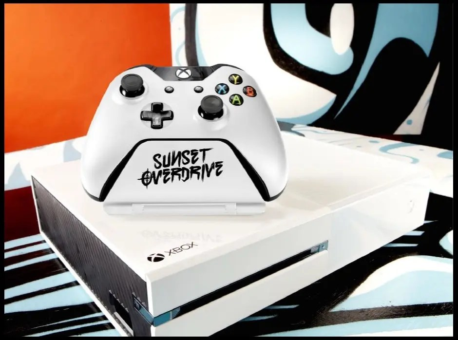Sunset Overdrive Controller Stand