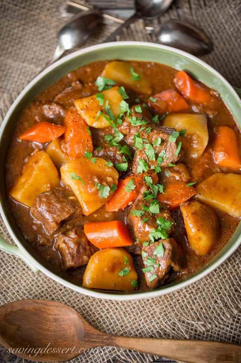 Tender Guinness Beef Stew