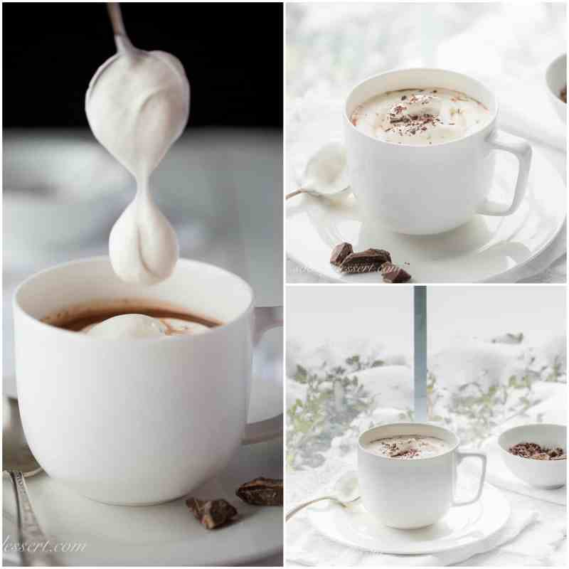 Viennese Hot Chocolate with Peppermint KAHLÚA
