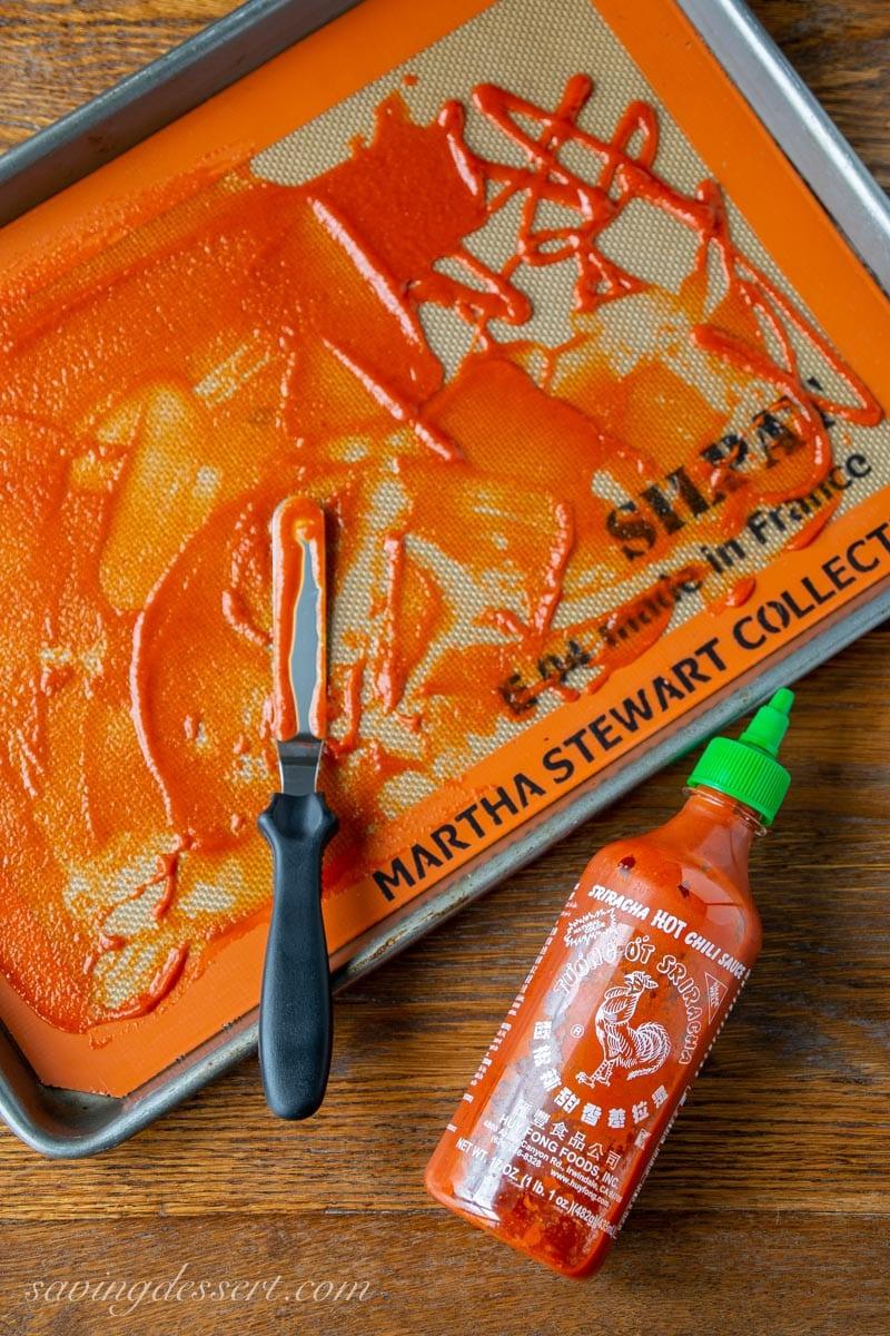 Bottled Sriracha Sauce