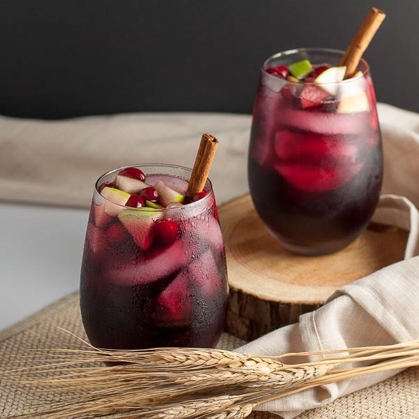 Offer up a toast of Thanksgiving with the ideal autumn sangria