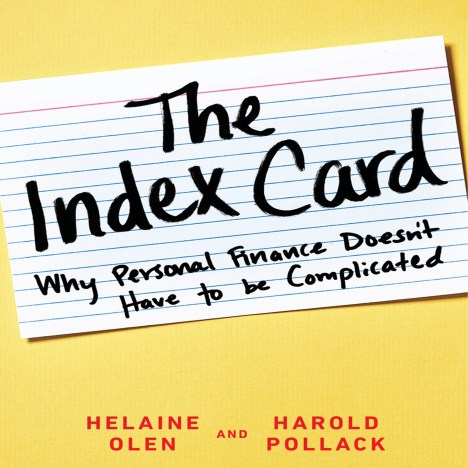 The personal finance index card: everything you need to know about personal finance on a single index card!