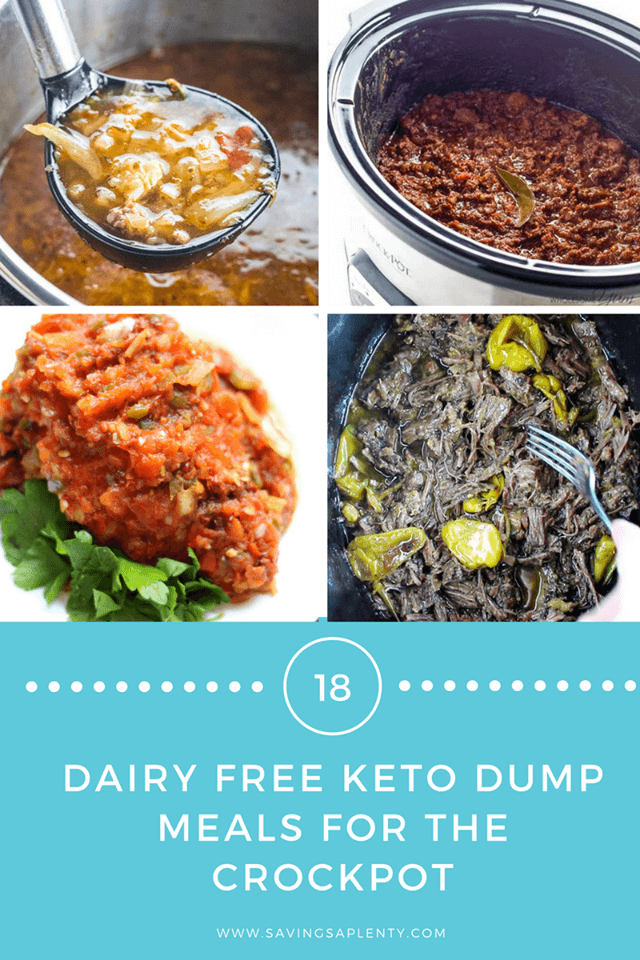18 Dairy Free and Keto Friendly Slow Cooker Dump Meals!