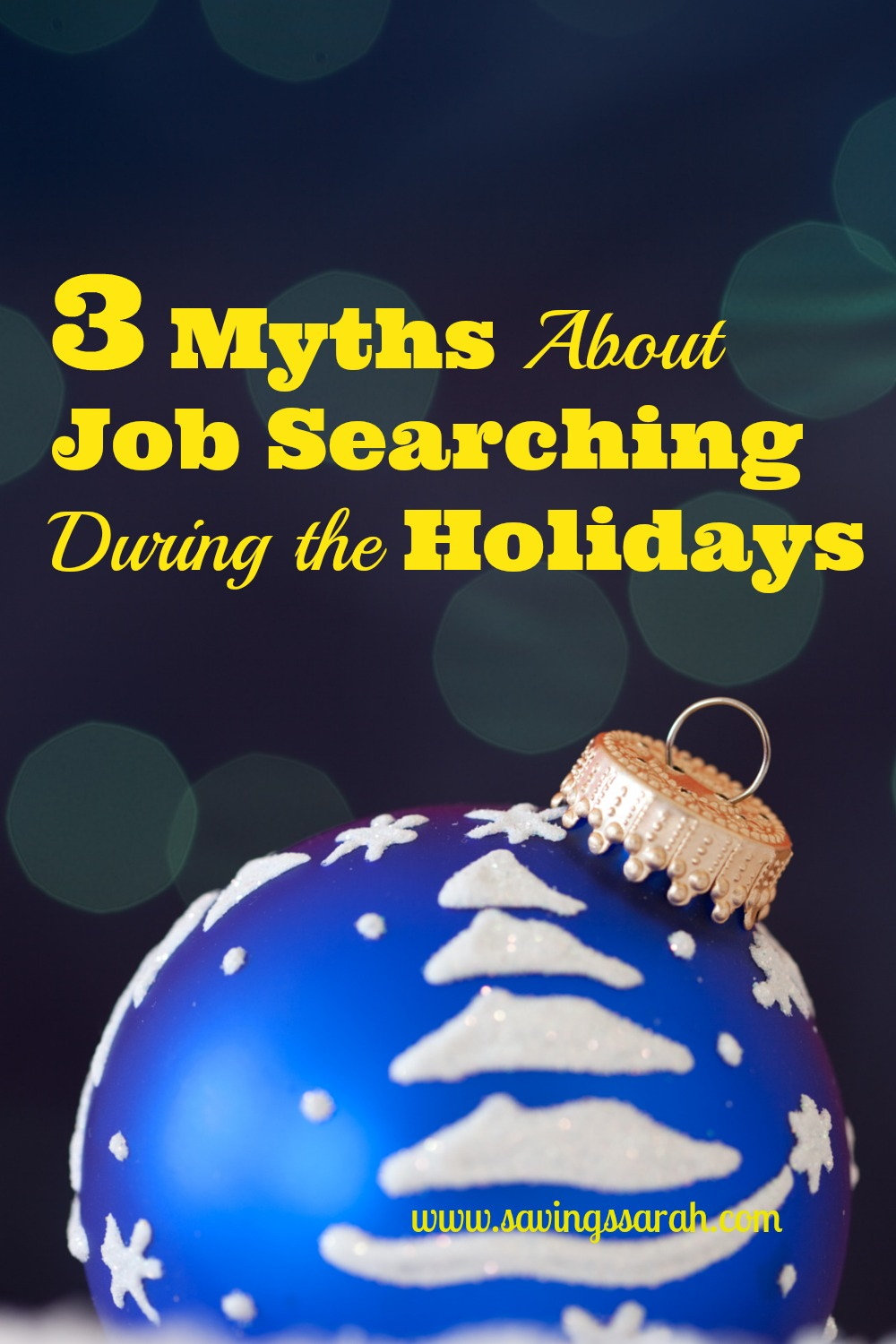 3 Myths about Job Searches During the Holidays