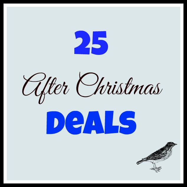25 After Christmas Deals