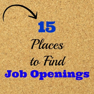 15 Places to Find Job Openings