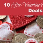 10 After Valentine's Deals