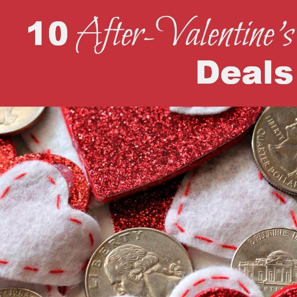 10 After Valentine's Deals
