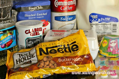 Butterscotch Bunny Ingredients